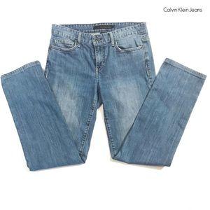 Calvin Klein straight leg jeans Sz 28